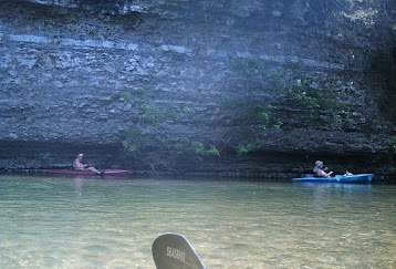 One of our many float trips
