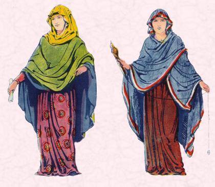 Anglo-Saxon Lady & Woman