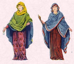 Anglo-Saxon Lady & Woman