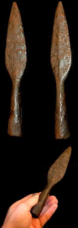 Anglo-Saxon spear heads