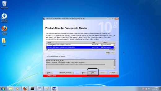 Step 5: Fixing product specific perquisite checks