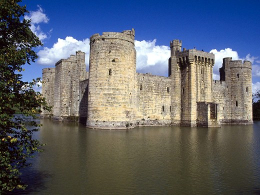 Bodiam Castle in London