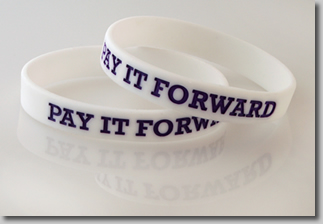 Pay it forward for a change!