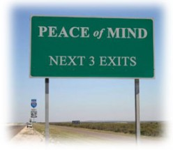 Peace of Mind--A Senryu