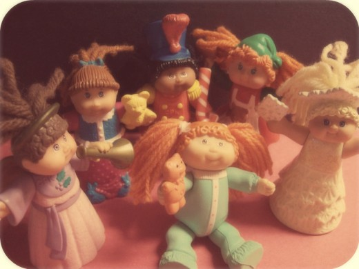 Cabbage Patch Kids having a party!