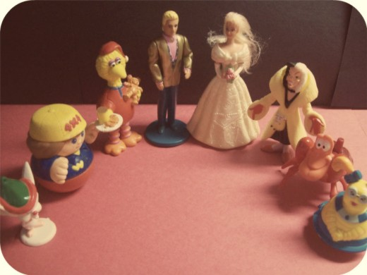 I now pronounce you Barbie and Ken. The wedding party approves!