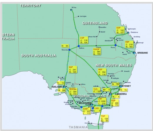 in Australia: Gladstone coal seam gas LNG exports to raise Australian ...