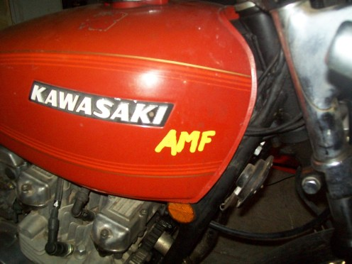 and this my friends,... is how you get an AMF edition Kawasaki!