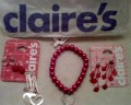 Shop at Claire's for Valentine's Day!