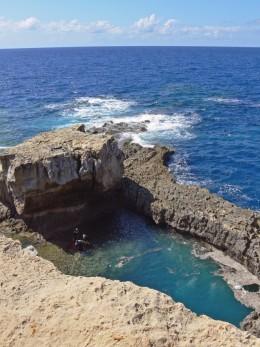 The Blue Hole Near Gozo, Malta