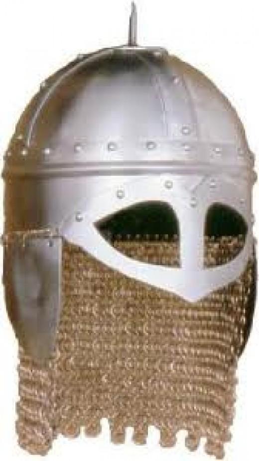 Early Danish warrior's steely brow
