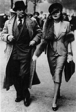 30s Fashion: A Quartet of Chic Ladies   1930s Fashion Anytime