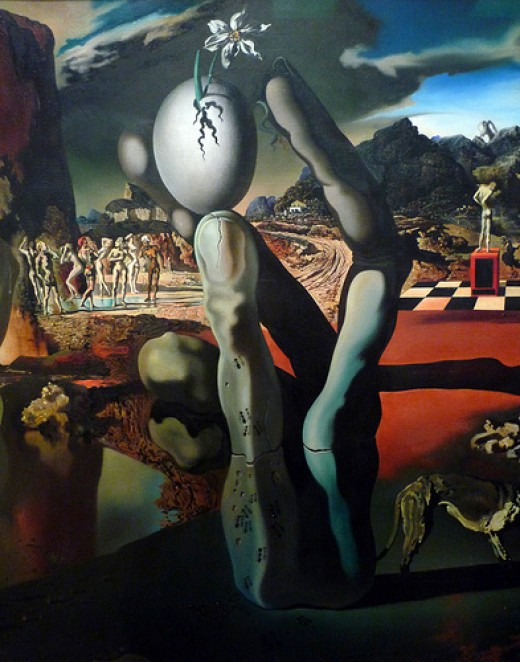 Metamorphosis of Narcissus by Salva dor Dali from profzucker  Source: flickr.com
