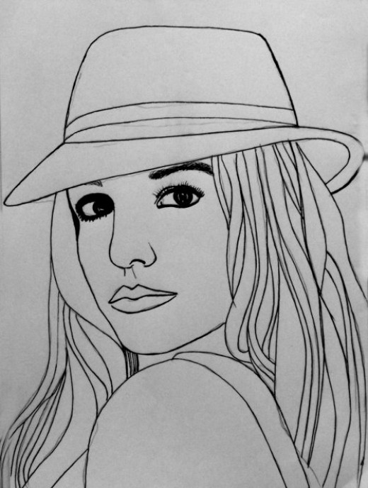 Yourself Drawings Cartoon Drawing of Yourself