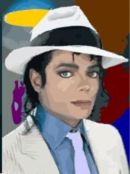 A Picture of Michael Jackson