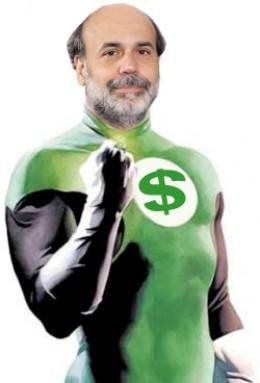 Federal Avenger Ben Bernanke