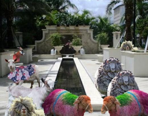 Goatropia's Tropical Plazas - *See composite component image citation