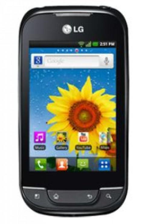 LG optimus net P360