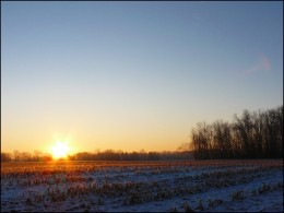 Applying manure to fields during the cold of winter might backfire during a sudden thaw.