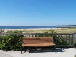 Long Island Sound from West Haven Beach