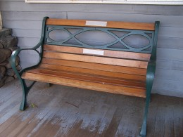 Bench on a Porch