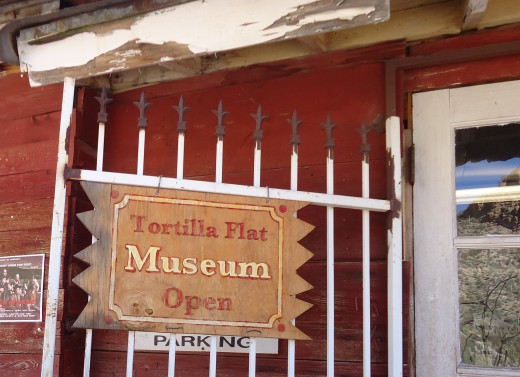 The Tortilla Flat Museum contains historical information, artifacts and photos.