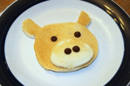 Easy-to-make fun pancakes for kids