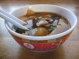 hot and sour soup (pungent and hot soup)