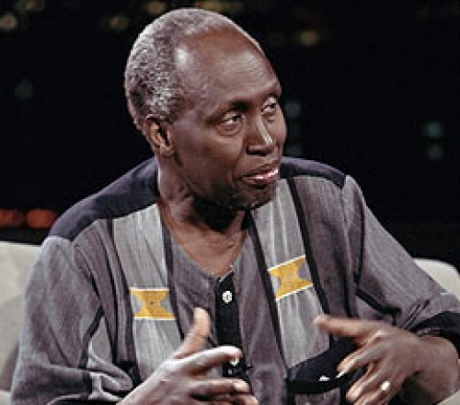 Kikuyu author Ngugi wa Thiong'o
