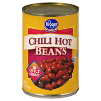 CHILI HOT BEANS (more like spicy not hot)
