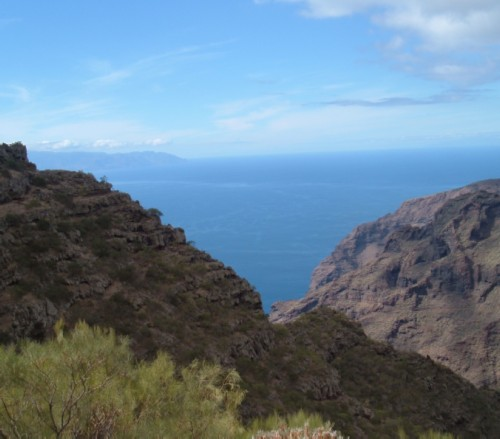 La Gomera is in the distance. Photo by Steve Andrews