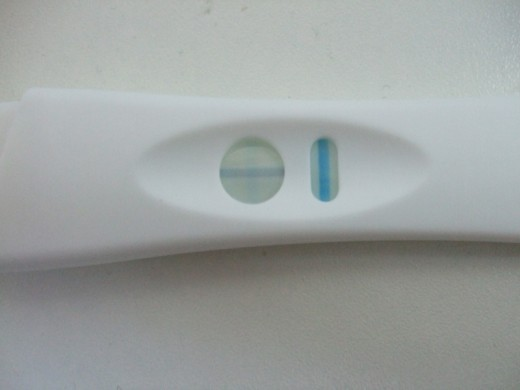 On Jan 28th 2012 I took this pregnancy test.