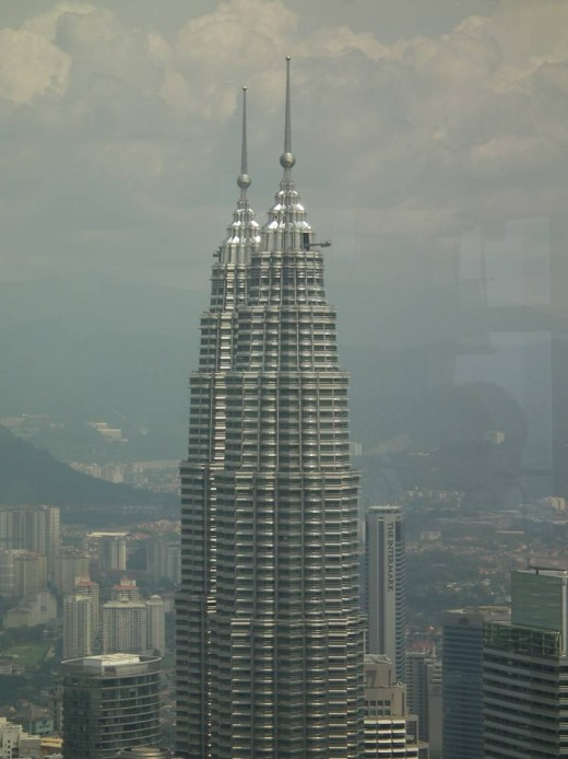 Petronas Towers from the Menara Tower