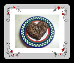 How To Make A Heart-Shaped Brownie.