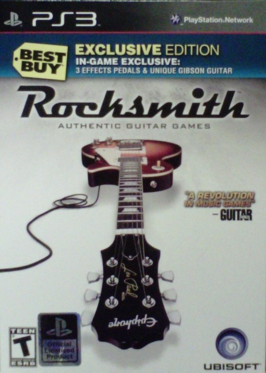 Yep, it's a box.  It's a box full of Rocksmith.  From Best Buy.