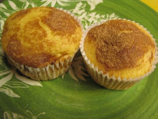 No sugar, no fat muffins
