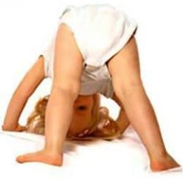 Downward Dog Pose to relax an explore the world upside-down. Try it!