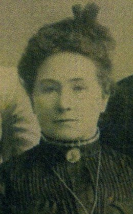 Minnie Kelliher, my father's maternal grandmother, c. 1900