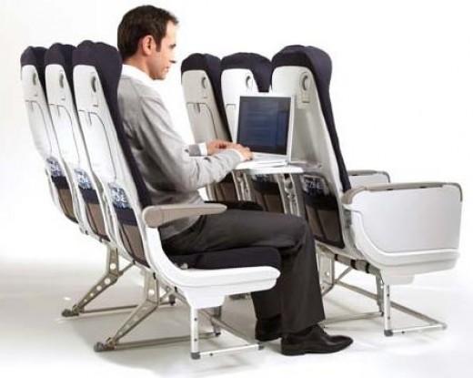 Recaro airplane seats - same manufacturer as the option given Cadillac seats