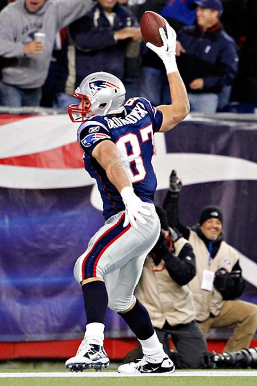 Rob Gronkowski, Patriots coaches, and fans had high expectations for #87 in 2012, which he far exceeded.