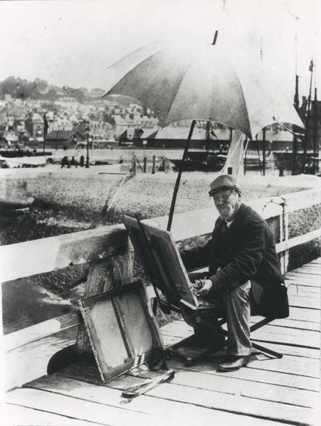 A Person that made such a long lasting impact on Monet's Life.   I love this photo, it makes me smile.