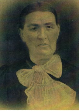 Bertha Roeck Schultz, my mother's maternal grandmother, c. 1875