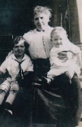Margaret Grady, my father's paternal grandmother (with my father on her knee!), c. 1915