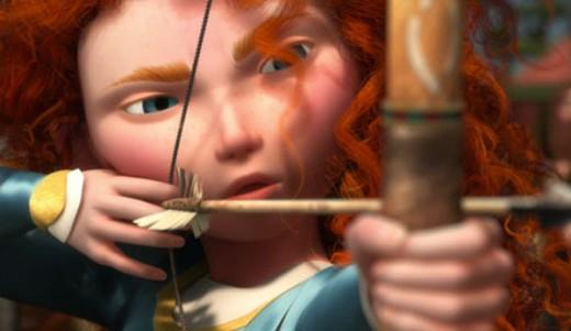 Can Princess Merida shoot into Princess fame like Rapunzel and Tiana before her?