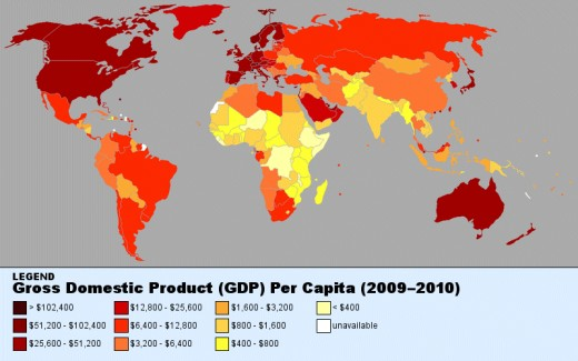 International GDP per capital (2009-10) with legend added.
