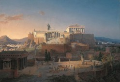 Two Ancient Greek Gods and the Battle of Athens
