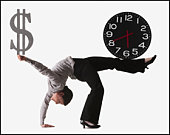 Balancing investment, advertising and waiting for business can be a real balancing act!