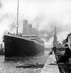 Titanic auction,  100 years after the day she sank.