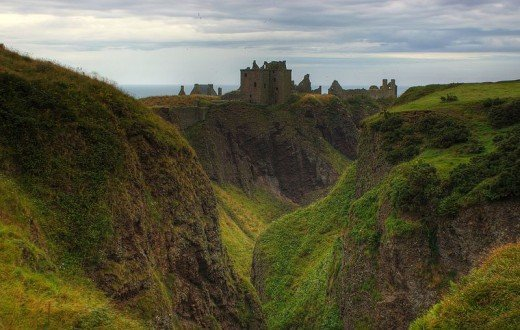 Dunnottar Castle - beautiful and haunted?