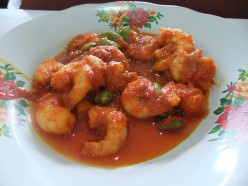 Sichuan Spicy Shrimp